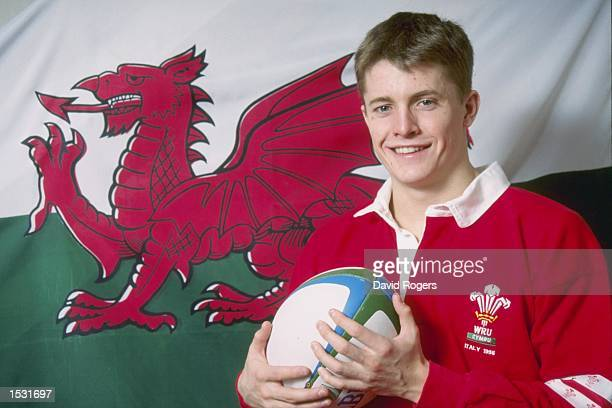 A portrait of Arwel Thomas of Wales taken during a Rugby Union Feature in Wales Mandatory Credit David Rogers/Allsport