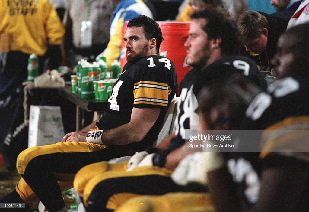 1996 Super Bowl XXX - Dallas Cowboys over Pittsburgh Steelers 27-17 : News Photo