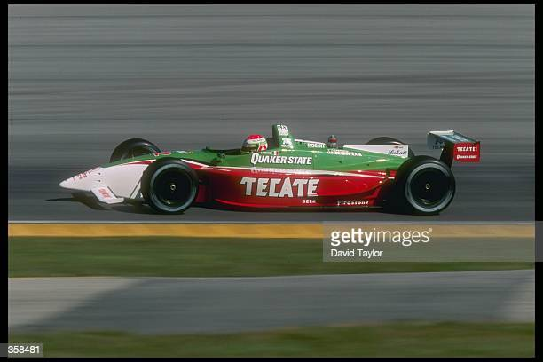 CART driver Adrian Fernandez of Mexico driving for team Tasman Motorsport in action in the Lola Honda T9700 during spring testing at the Homestead...