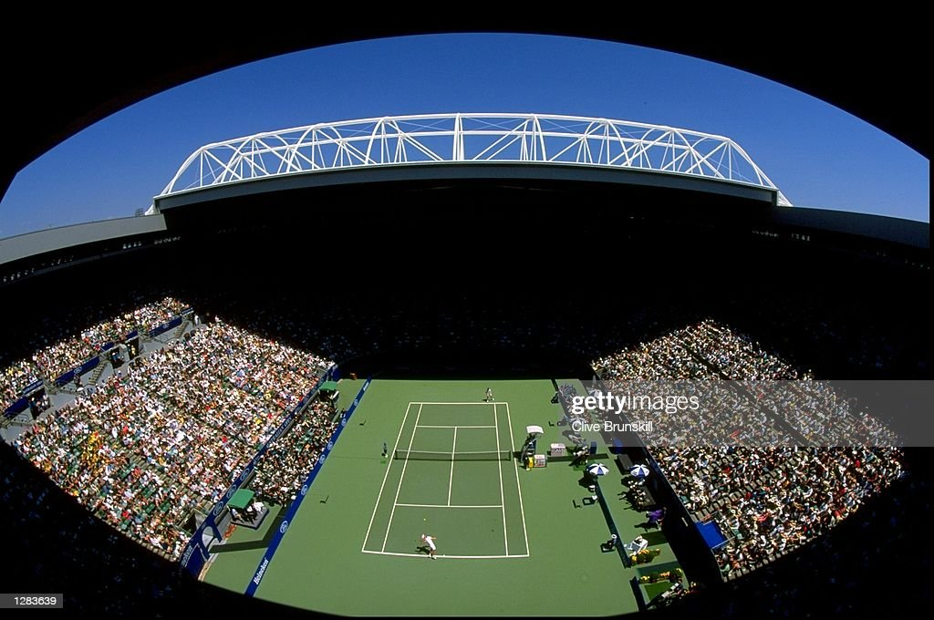 A General View Of Centre Court During The Australian Open At News