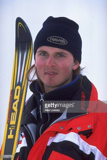 A portrait of John MoulderBrown of Great Britain at the British Land National Ski Championships in Tignes France Mandatory Credit Alex Livesey...