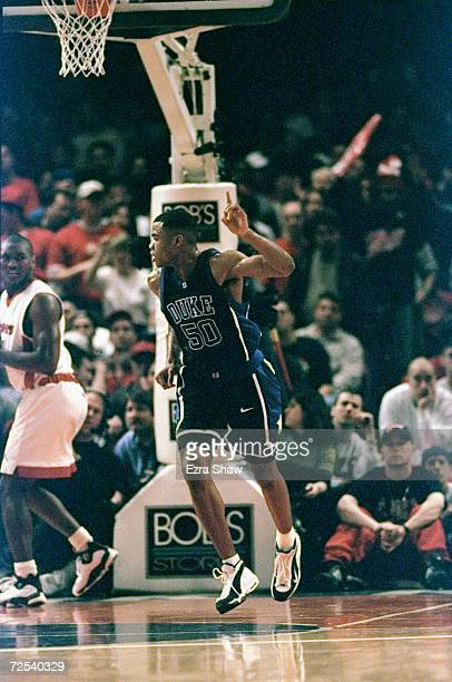 Corey Maggotte of the Duke Blue Devils in action during the game against the St John''s Red Storm at the Madison Square Garden in New York, New York....