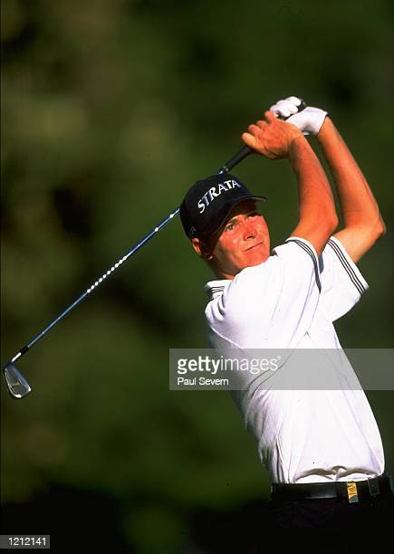 David Carter of England in action during the South African Open at Stellenbosch GC in Cape Town, South Africa. \ Mandatory Credit: Paul Severn...