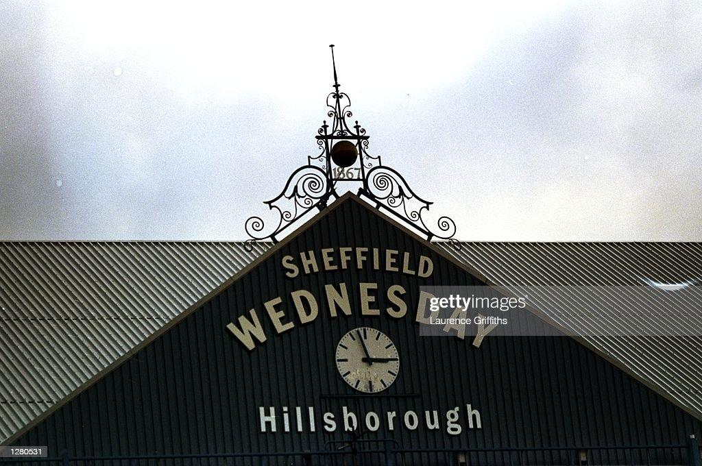 Sheff Wed v Spurs General View : ニュース写真