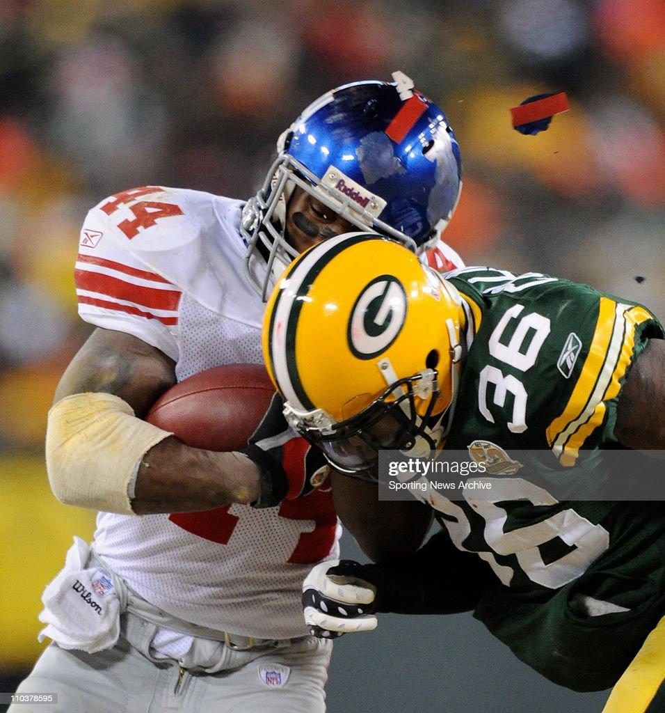 NFL: NY Giants Beat Green Bay 23-20 : Foto jornalística