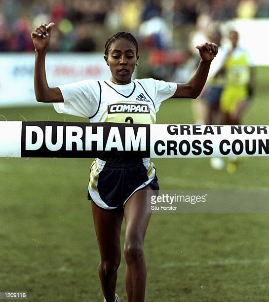 Gete Wami of Etiopia Wins in the IAAF world cross country series Great North Run in Durham England Mandatory Credit Stu Forster /Allsport