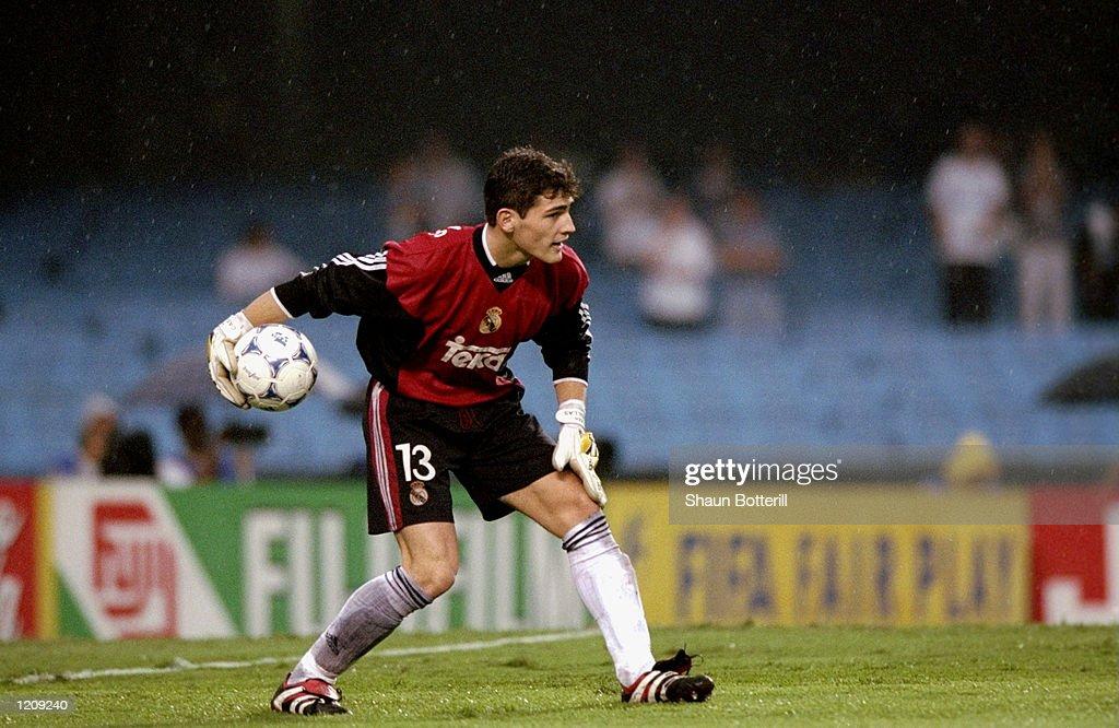 Iker Casillas of Real Madrid : News Photo