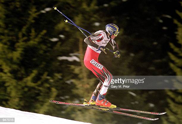 John MoulderBrown in action during the British National Skiing Championships in Saalbach Austria Mandatory Credit Gary M Prior/Allsport