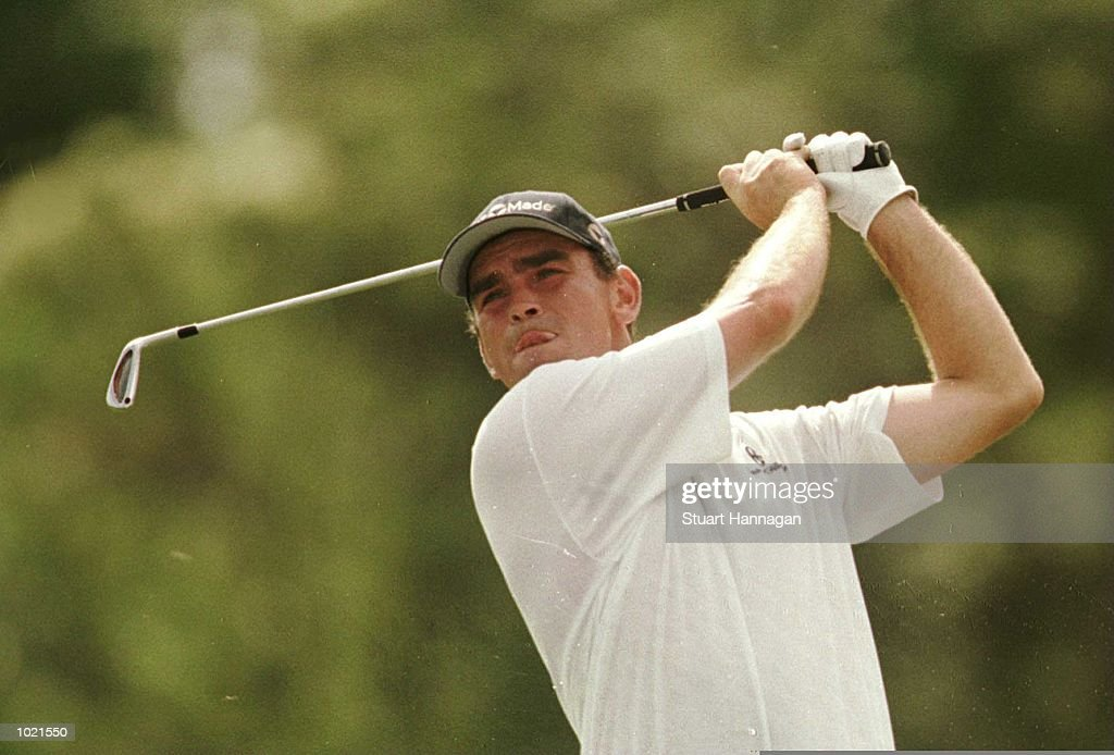 Thomas Bjorn of Denmark in action during the third round of the Heineken Classic 2000 golf played at The Vines Golf Course, Perth, Australia. Mandatory Credit: Stuart Hannagan/ALLSPORT