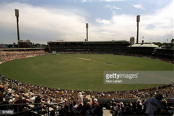 A general view of the Sydney Cricket Ground during the third days play of the Fifth Test Match between Australia and West Indies at the Sydney...