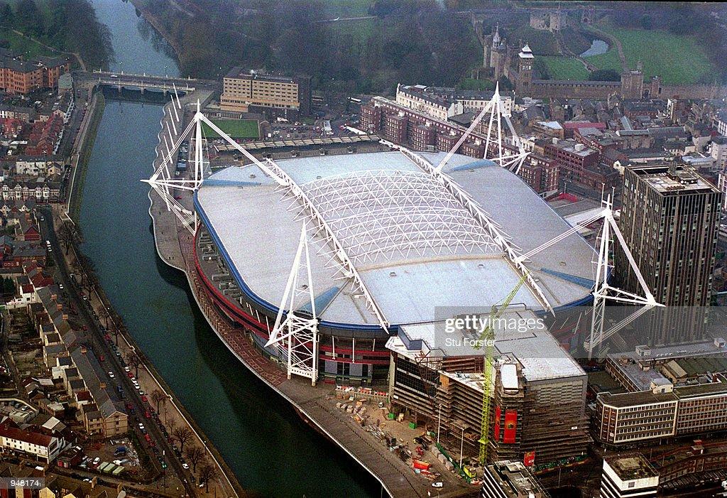 Millennium Stadium : News Photo