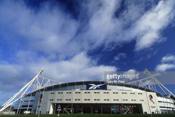 General view of Bolton Wanderers Football Club stadium the Reebok Stadium during a photoshoot held in Bolton, England. \ Mandatory Credit: Gary M...