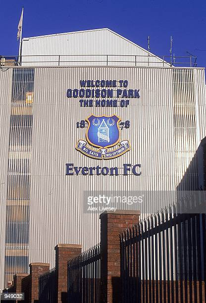General view of Goodison Park home of Everton before the FA Carling Premiership match between Everton and Tottenham Hotspur played at Goodison Park...