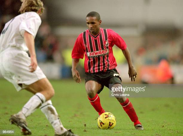 Jermaine Defoe of Bournemouth on the ball during the Nationwide League Division Two match against Millwall at the New Den in London Bournemouth won...