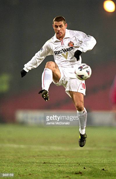 Kevin Phillips of Sunderland controls the ball during the AXA sponsored FA Cup 3rd round replay match against Crystal Palace played at Selhurst Park...