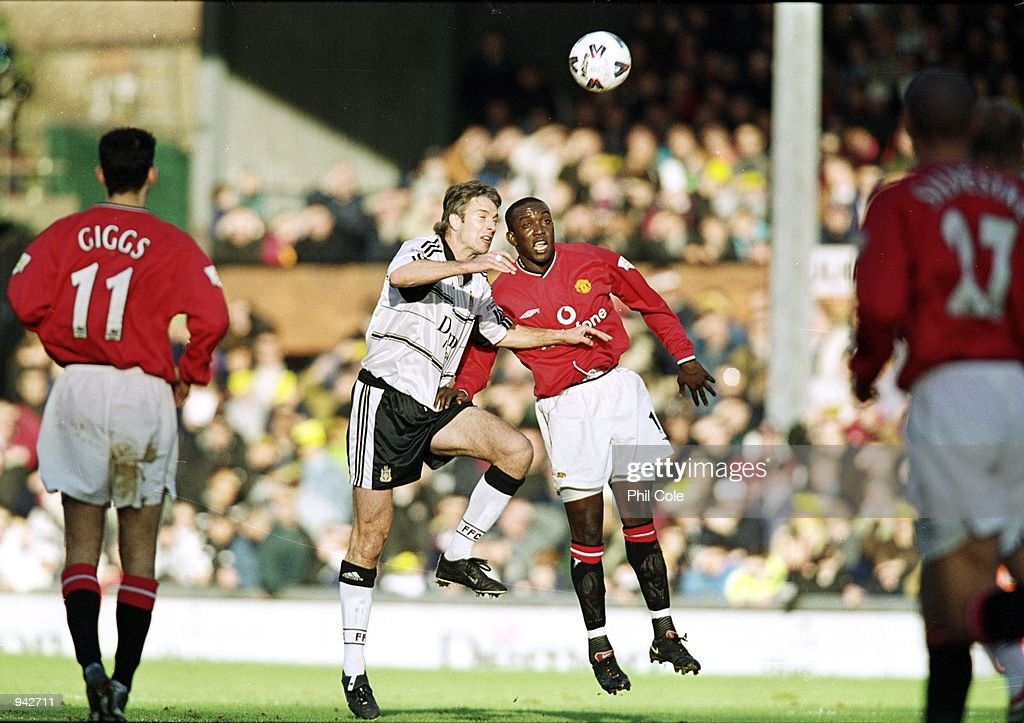 Kit Symons, Dwight Yorke : News Photo