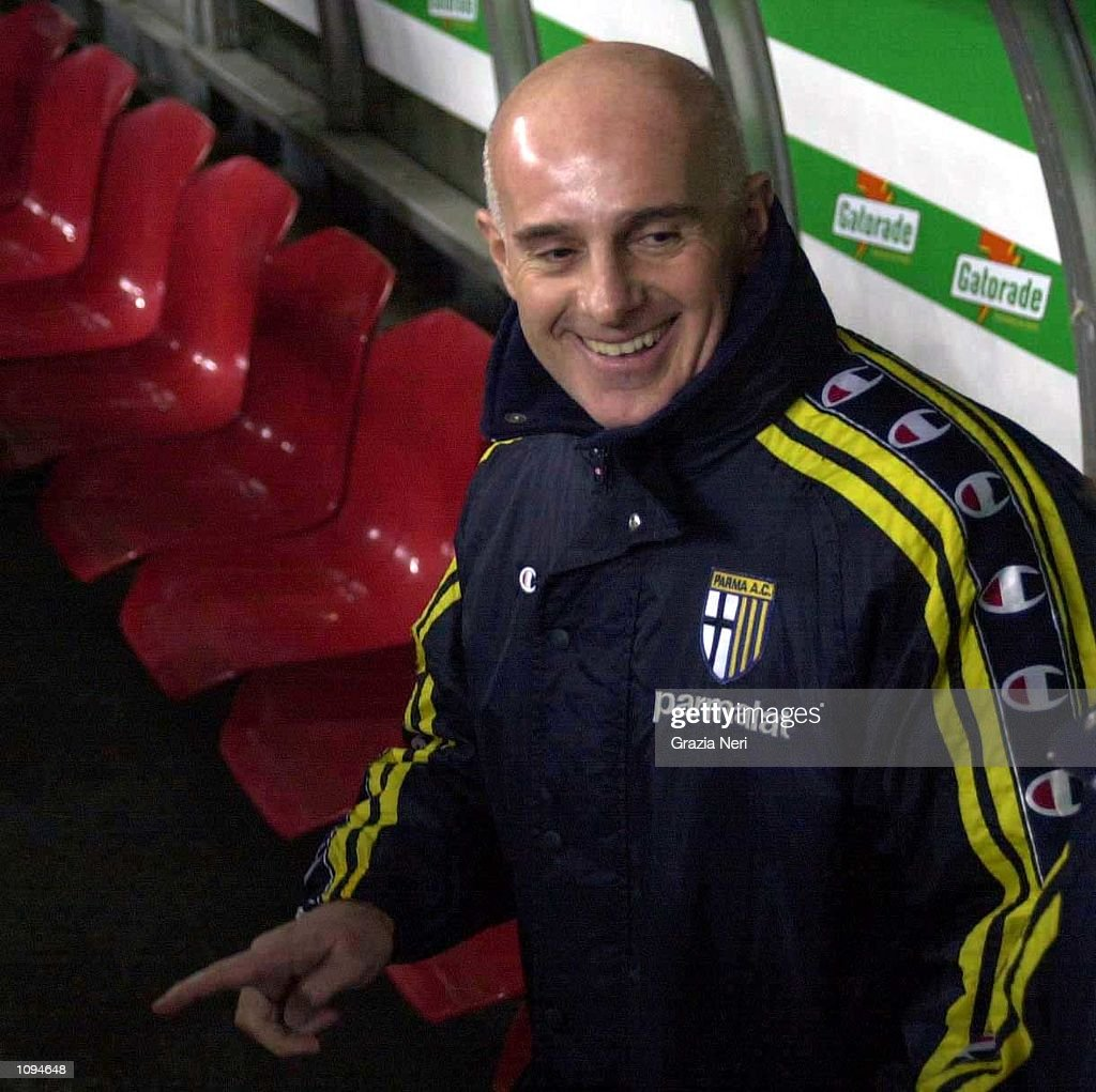 Parma coach Arrigo Sacchi during the Serie A 14th Round League match between Inter and Parma played at the Giuseppe Meazza San Siro Stadium, Milan. Mandatory Credit: Grazia Neri/ALLSPORT