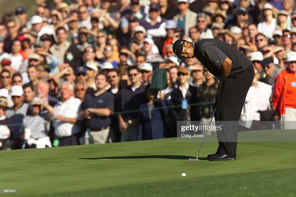 Phoenix Open X Woods : News Photo