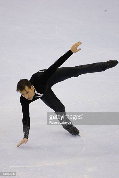 Michael Weiss of the USA competes in the mens free program during the State Farm US Figure Skating Championships at the Staples Center in Los Angeles...