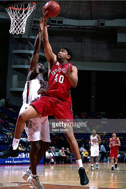 Kelly of the Fayetteville Patriots drives to the basket for a layup against the Columbus Riverdragons during the NBDL Game at the Crown Coliseum in...