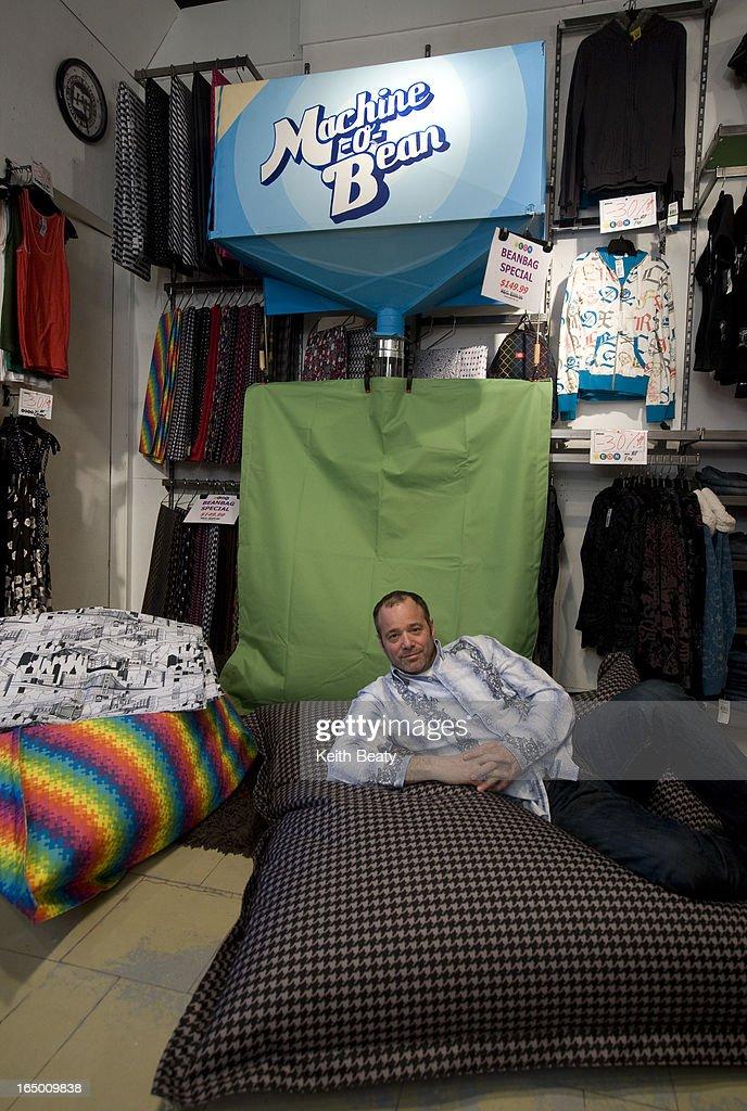 Marvelous 14 Jan 2009 Neon Photos Of Bean Bag Chairs And A Fabric Machost Co Dining Chair Design Ideas Machostcouk