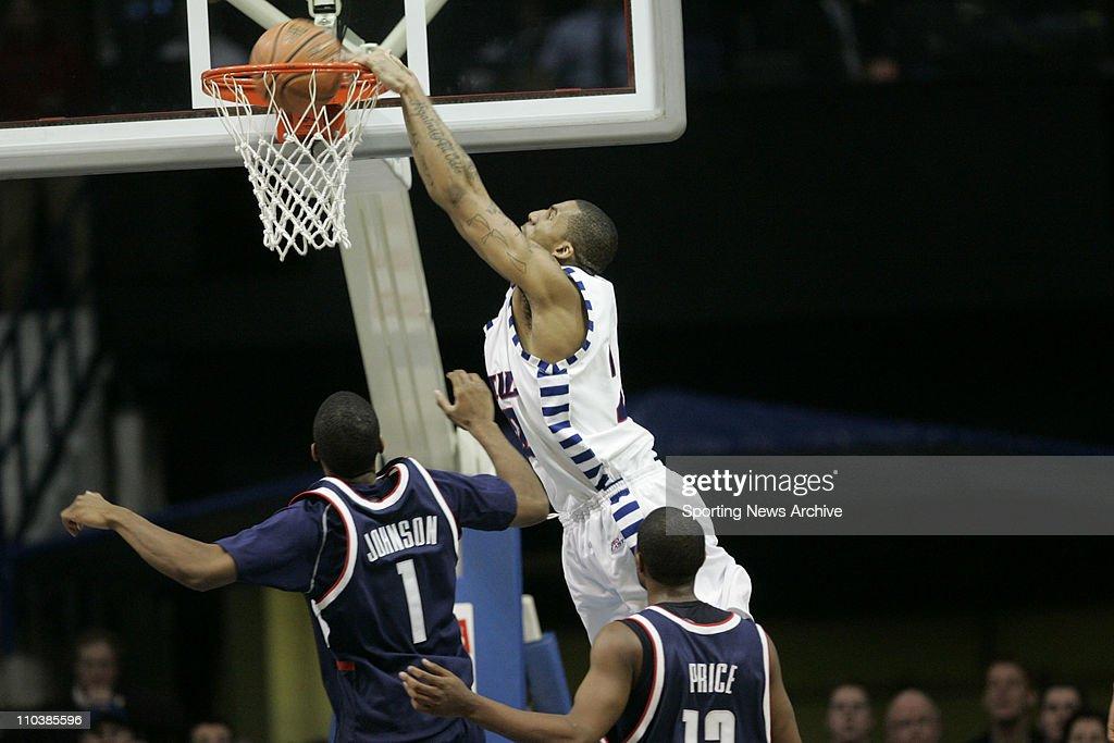 NCAA Basketball: DePaul Beats Connecticut 66-58 : News Photo