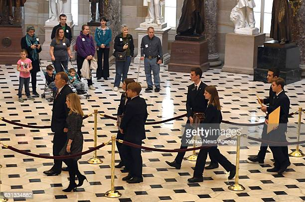 Capitol Hill staff members carry boxes of Electoral College ballots to a joint session of Congress to count the votes in Washington DC the United...