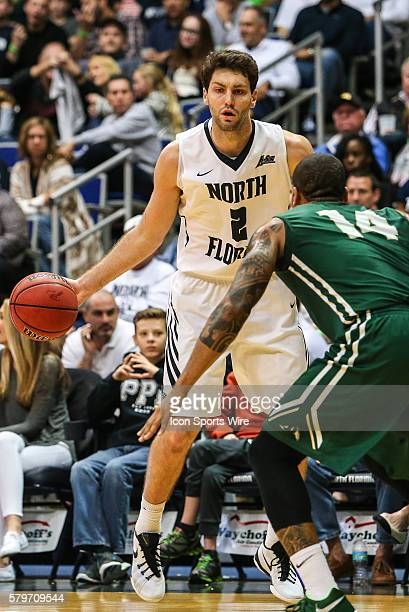 North Florida Ospreys guard/forward Beau Beech during the NCAA men's basketball game between the Jacksonville University Dolphins and the North...