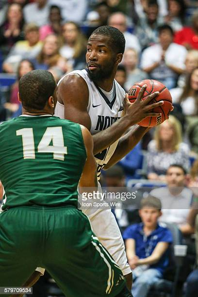 North Florida Ospreys forward Chris Davenport during the NCAA men's basketball game between the Jacksonville University Dolphins and the North...