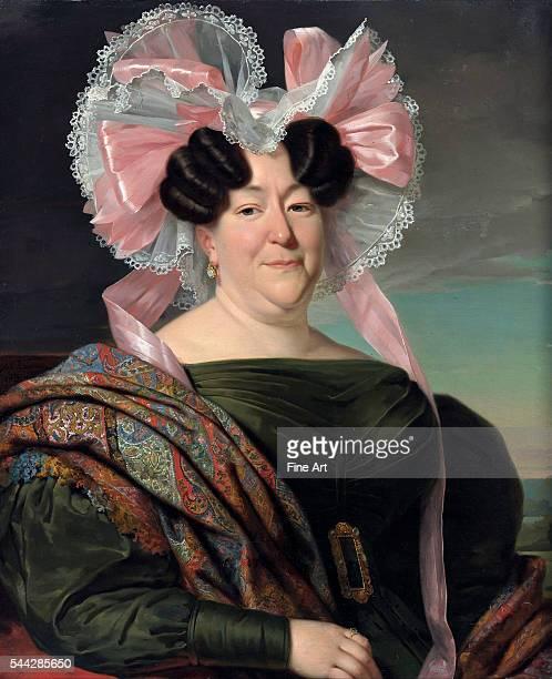 Jan Adam Kruseman Portrait of a Lady oil on canvas 658 x 787 cm Museum Boijmans Van Beuningen Rotterdam Netherlands