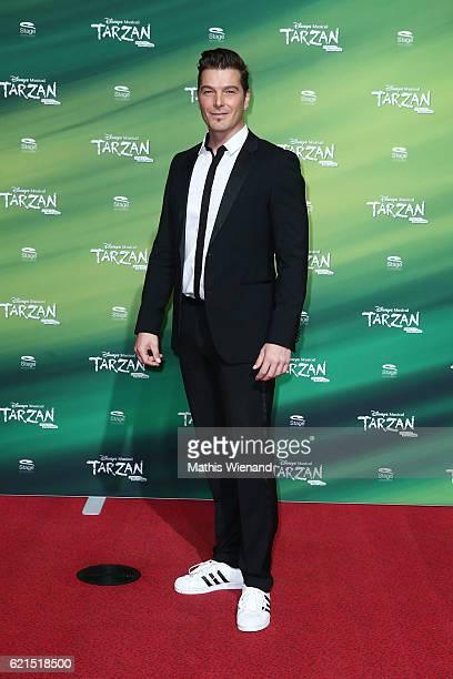 Jan Ammann attends 'Tarzan' Musical Premiere on November 6 2016 in Oberhausen Germany