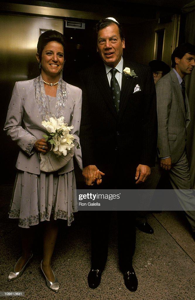 Jan Aronson and Edgar Bronfman Jr  during Wedding of Edgar