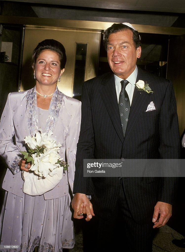 Jan Aronson and Edgar Bronfman Jr  during Wedding of Edgar Bronfman