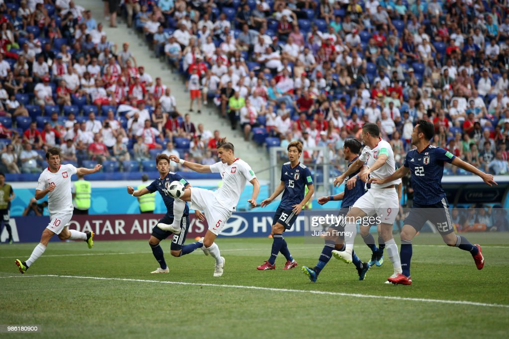 Japan v Poland: Group H - 2018 FIFA World Cup Russia : News Photo