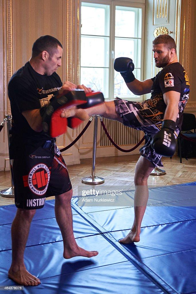 UFC Fight Night: Gonzaga vs. Cro Cop II - Press Event : News Photo