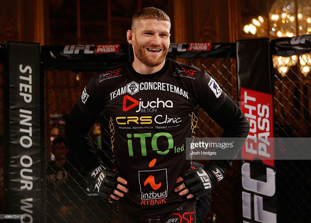 UFC Stockholm Open Workouts : News Photo