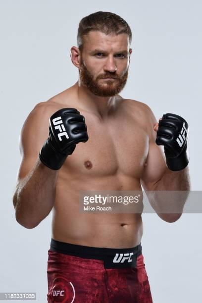Jan Blachowicz of Poland poses for a portrait during a UFC photo session on November 13, 2019 in Sao Paulo, Brazil.