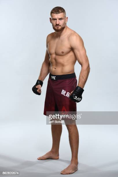 Jan Blachowicz of Poland poses for a portrait during a UFC photo session on October 18 2017 in Gdansk Poland