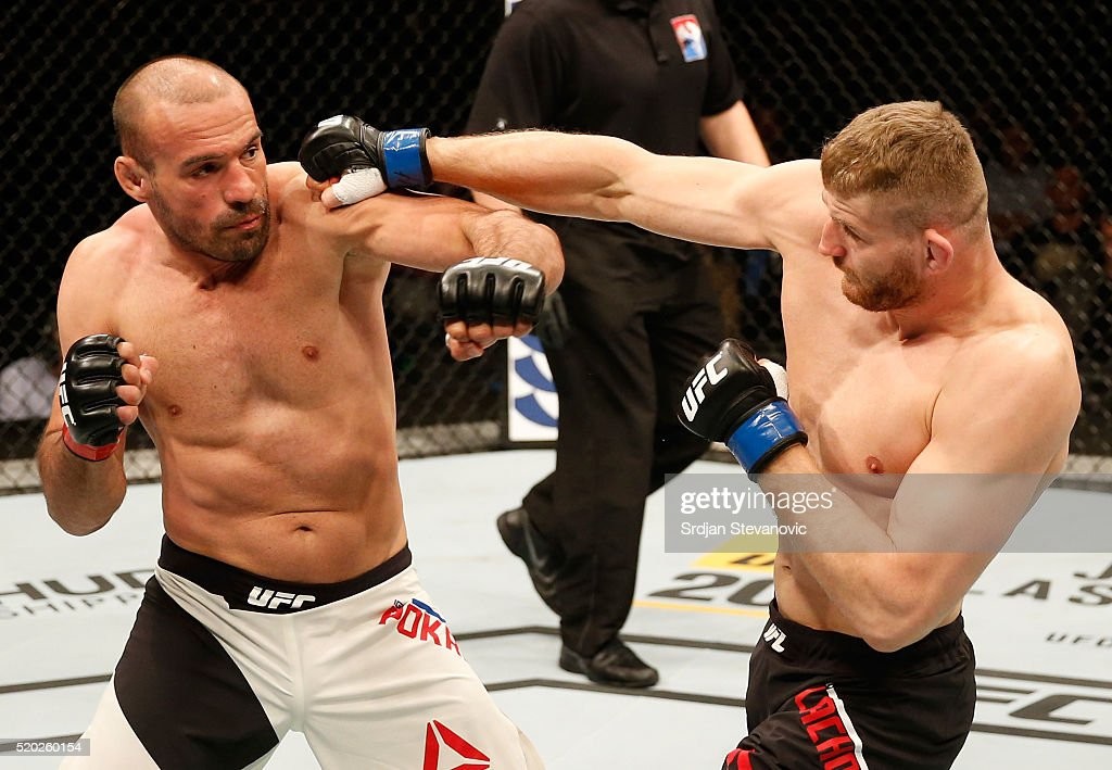 UFC Fight Night: Rothwell v Dos Santos : News Photo