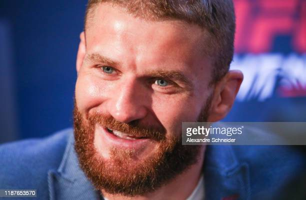Jan Blachowicz smiles during the Ultimate Media Day at Renaissance Hotel Sao Paulo on November 14, 2019 in Sao Paulo, Brazil.