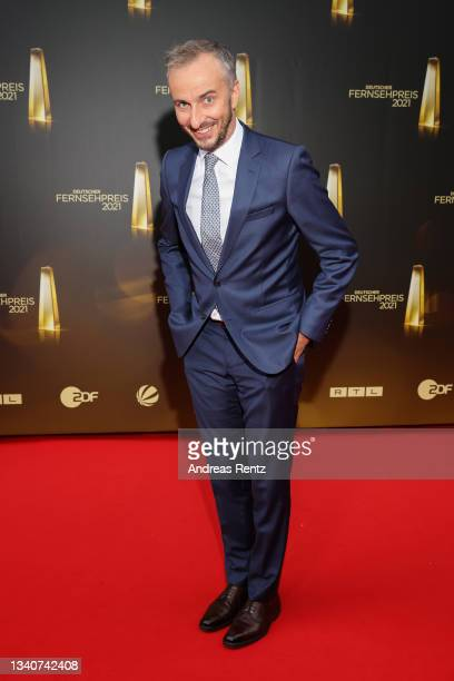 Jan Boehmermann attends the German Television Award at Tanzbrunnen on September 16, 2021 in Cologne, Germany.