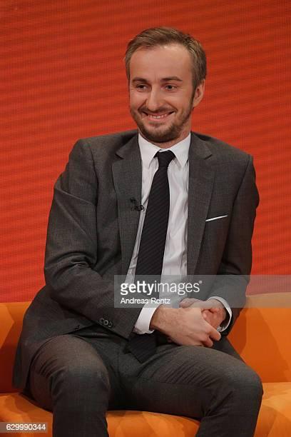 Jan Boehmermann smiles during 'Menschen 2016' - ZDF Jahresrueckblick on December 15, 2016 in Hamburg, Germany.