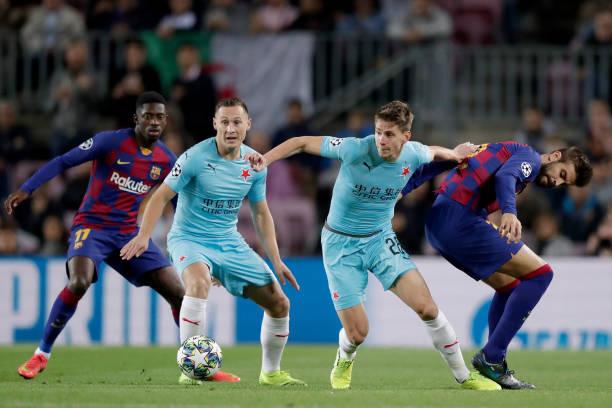 FC Barcelona v Slavia Prague - UEFA Champions League