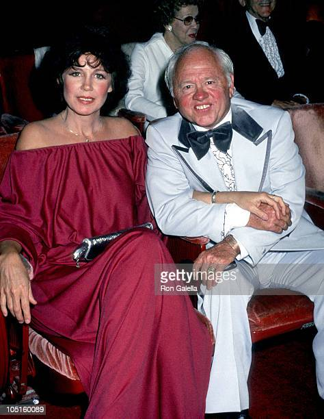 Jan Chamberlain and Mickey Rooney during 50th Annual Academy Awards at Dorothy Chandler Pavillion in Los Angeles California United States