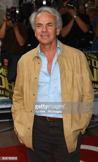Jan De Bont arriving at the Empire Leicester Square London for the UK premiere of Tomb Raider 2 Lara Croft And The Cradle Of Life