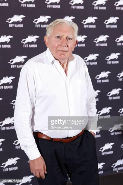 Jan Decleir attends photocall for the film 'Niet Schieten' during 33rd Namur International FrenchLanguage Film Festival FIFF on October 4 2018 in...