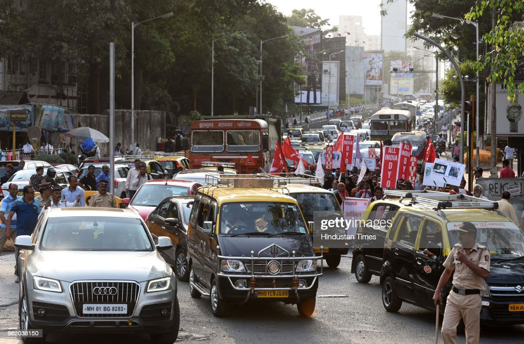 Jan Ekta Jan Adhikar Andolan Holds Protest Against Narendra Modi Government