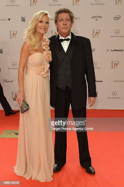 Jan Fedder and his wife Marion attend the Bambi Awards 2013 at Stage Theater on November 14 2013 in Berlin Germany
