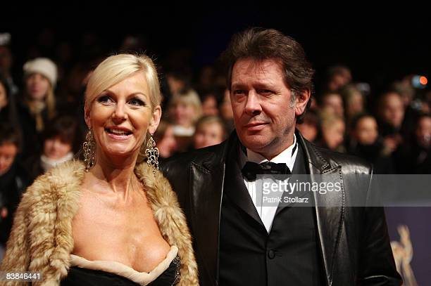 Jan Fedder and Marion Fedder attend the Bambi Awards 2008 on November 27 2008 in Offenburg Germany