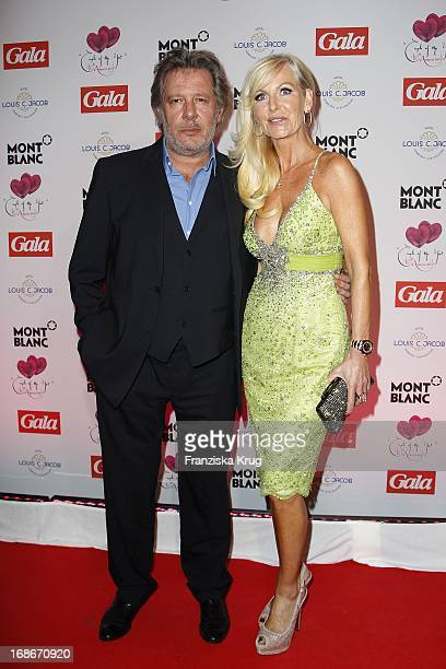 Jan Fedder and wife Marion In Ceremony Of The Couple Of The Year Of The magazine Gala And The Montblanc company in the Hotel Louis C Jacob in Hamburg